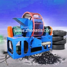 Used rubber recycling equipment / waste tire crushing