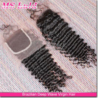 new style no tangle big price drop hair closure piece indian water kinky twist marley braid hair