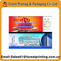 Coloring Voucher Tickect Print Service/Offset Printing Voucher