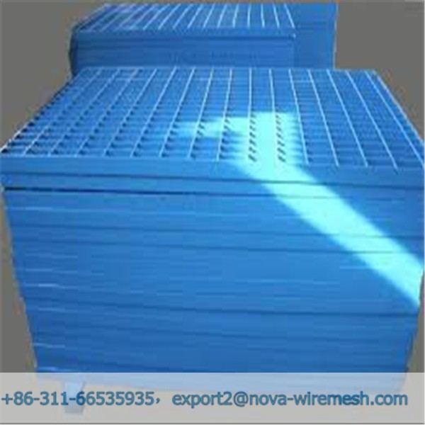 Factory price painted steel grating