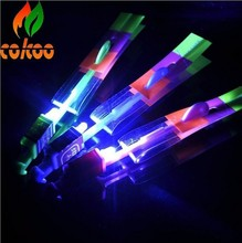 DHL Fast Shipping 1200pcs/lot Novelty LED flying Arrow flash light Arrows LED Helicopter well for playing in night