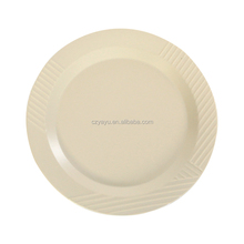 Restaurant ceramic plates dishes / Multi-sizes stripes fluted cheap ceramic dishes
