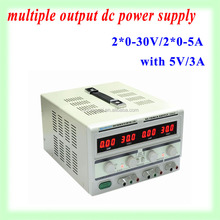 Switching dc power supply 0-30v 0-5a dual output voltage