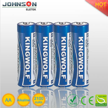 Factory price 1.5V lr6 am3 aa alkaline battery , lr6 size aa am3 1.5v battery