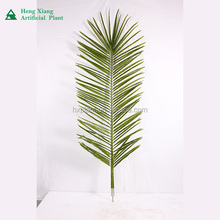 Hot sale cheap wholesale artificial plastic fake coconut leaves,palm leaves