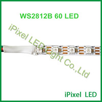 addressable WS2812B led strip flexible 60LEDS/m color changing