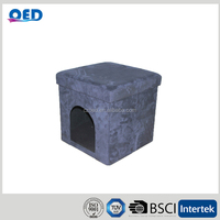 Beautiful Sturdy Folded pet house home Supplier ottoman bed