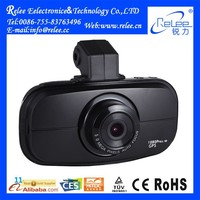 "2015 black box Ambarella Dash Cam Car DVR Video Recorder 1080P Full HD Camera GPS 2.7"" HDR + G-Sensor H.264"