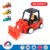 New cheap plastic safe Inertia construction die cast mini truck toy for kid