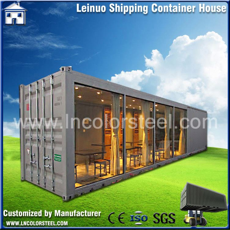 modern design modular moveable container house 40ft