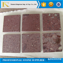 outside red paving granite paver stone