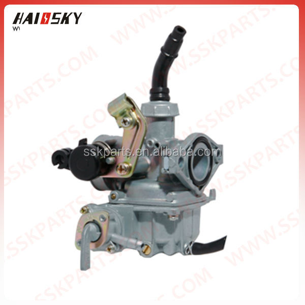 HAISSKY chinese spare parts for motorcycle carburetor for 50cc motorcycle