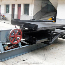 Tin Ore Gold Copper Shaking Table Concentrator Price For Sale
