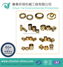 China manufacturer customized cnc ptfe bronze bushing teflon bushing