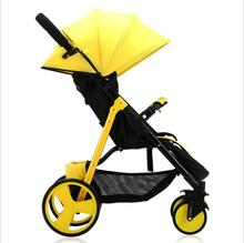 Baby cart ultralight high landscape four seasons available foldable baby stroller