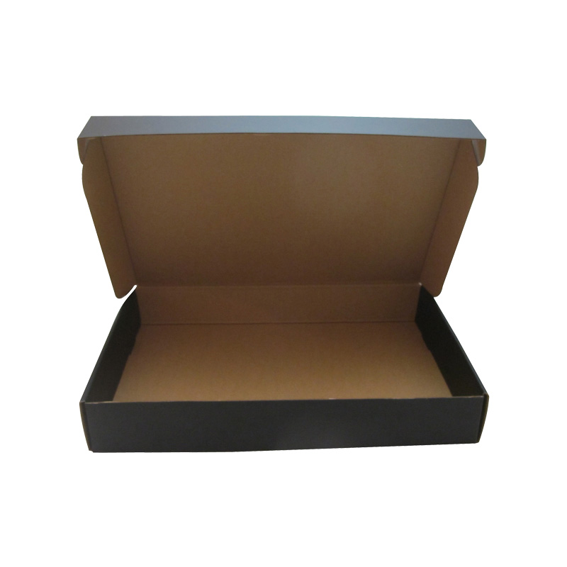 custom size corrugated box made elegent design corrugated cardboard paper box