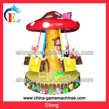 2013 White rabbit mushroom Amusement park ride amusement park swivel chair