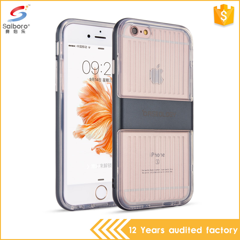 Heavy Duty Shockproof Hybrid Mobile Accessories Clear TPU Phone Case For iPhone 6