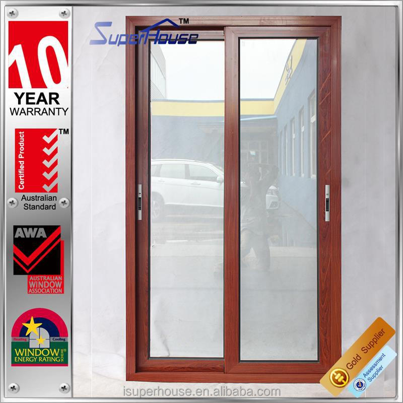 Australia standard BV certified factory AS2208 modern wood living room glass partition design