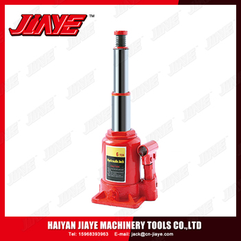 Guaranteed Quality Car Repair Lifting Tools Hydraulic Double Ram Bottle Jack