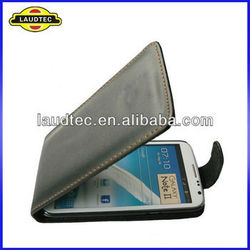 2013 New Arrival Leather Flip Case For Samsung Galaxy Note 2 Leather Pouch Cover