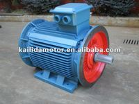 double shaft 200kw electric motors(b3 mounting ) with IEC frame 315L