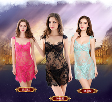 2018 New design Night Dress Sleepwear tassels sexy adult extreme hot sexy lingerie