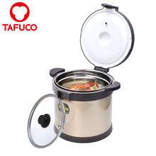 7.0L/238OZ Large Stainless Steel Double Wall Thermal Cooker Pot