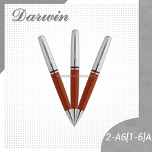 Twist metal leather executive ball pen manufacturer