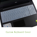 Keyboard skin 0.18mm thin custom keyboard cover for Dell