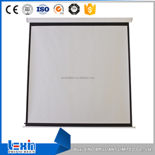 Distinctive manual projection price of projector screen
