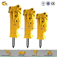 long working life CE approved excavator Hydraulic breaker rock breaker for construction demolition mining excavation