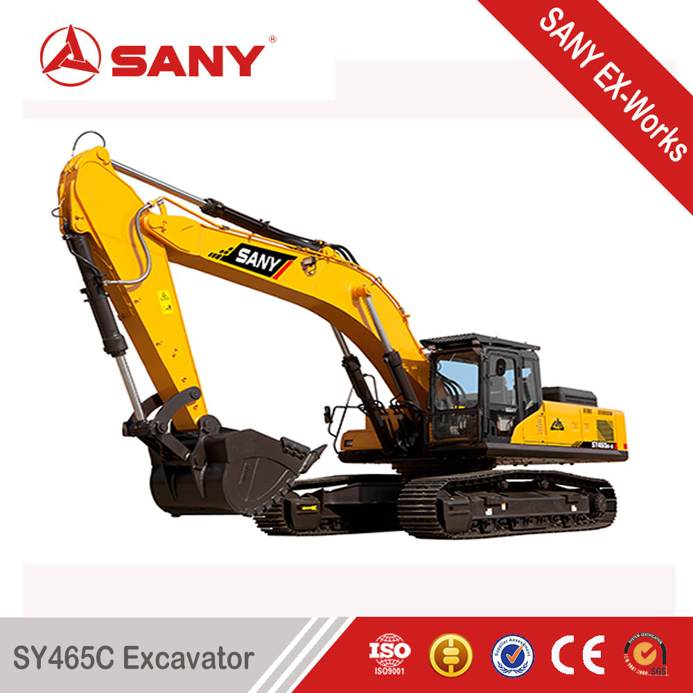 SANY SY465 46.5 ton Mining Construction Large Crawler Trench Digger Price in Malaysia
