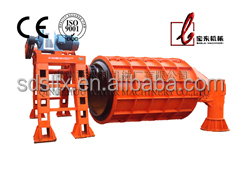 Construction materials machinery:Suspension Roller Precast Concrete Culvert Drainage Pipe Making Machine/Production Line