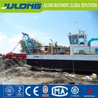 8inch sand suction dredger barge