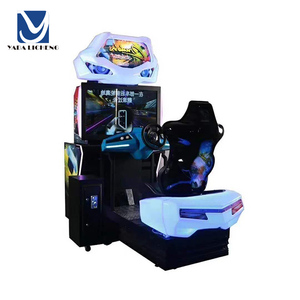 Indoor ticket token amusement facility Coin Operated Games Electronic Simulator Arcade Racing Car Game Machine