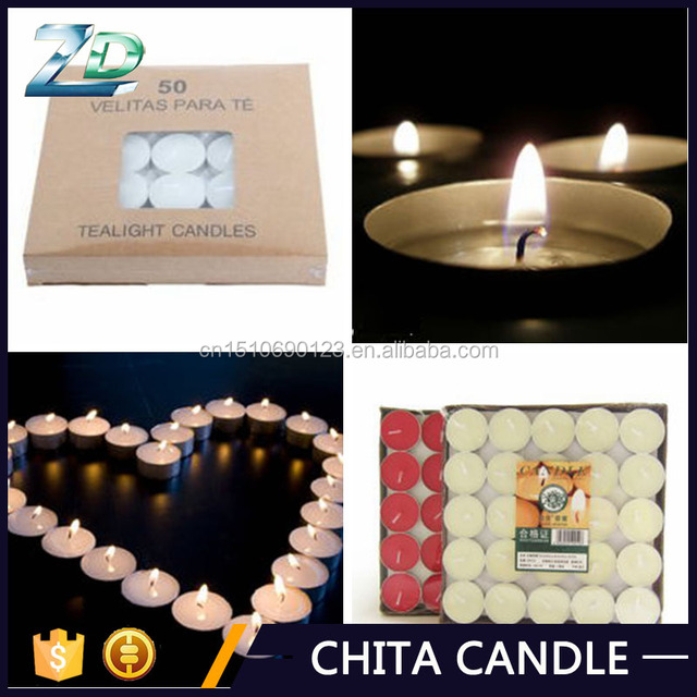 New Products 2017 Round Mini Tealight Candle Wholesale/t light Candle