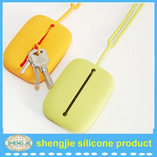 Hot selling new style silicone key ring for promotion