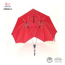 Fashion personality super cool size two shaft twin couple umbrella