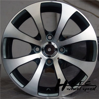 New!2014 new design 14 inch aftermarket sport racing Black rims