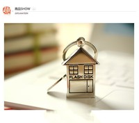 Metal Lovely House Style USB 2.0 Flash Memory Pen Drive 32GB U Disk D32