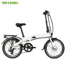 2018 Livelytrip ce en 15194 Front Wheel Motor 250W Chinese cheap folding electric bike for kids