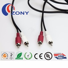 China providers hot sale CE ROHS best price high quality 2rc to 2rca cable