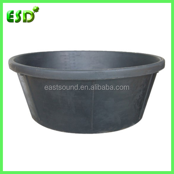 ESD 15 Gallon Round Rubber Animal Feeders and Waters
