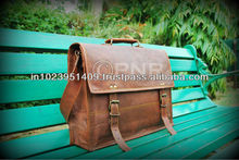 Handmade Genuine Leather Briefcase for lawyers, genuine leather, quality leather bags