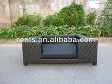 poly rattan dog/cat bed