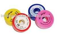 Label with PTFE water pipe sealing tape