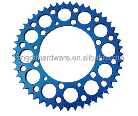 Aluminum alloy 7075 sprocket scooter part