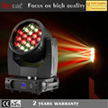19x40w dj lighting and effects bee eye moving head with zoom