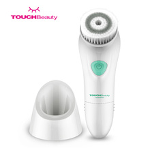 TOUCHBeauty Waterproof Electric Facial Cleansing Brush Sonic Vibration Face Scrubber TB-1487